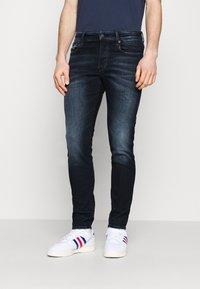 G-Star - 3301 SLIM - Slim fit jeans - worn in dusk blue - 0