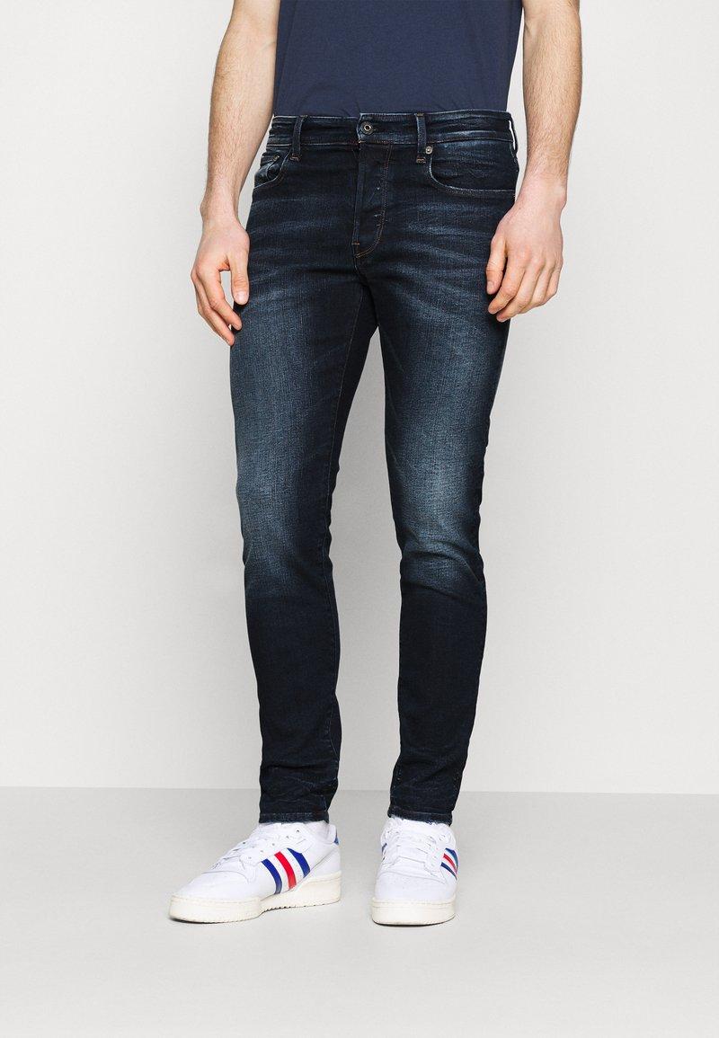 G-Star - 3301 SLIM - Slim fit jeans - worn in dusk blue