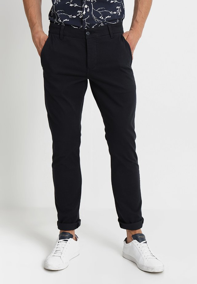 SMART SUPREME FLEX SKINNY - Chinos - dockers navy