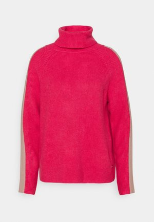 ROLLNECK - Jumper - pink fuchsia
