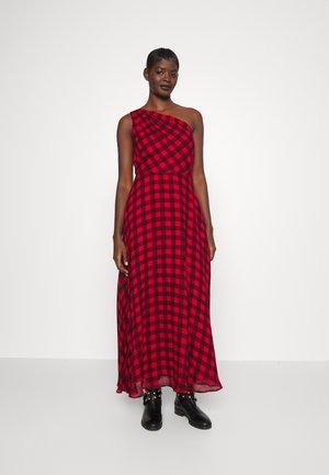 NOAH SLEEVELESS DRESS - Maxi dress - black/red