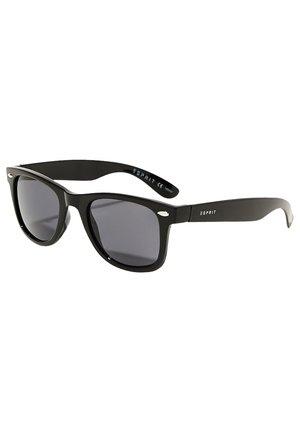 SONNENBRILLE AUS KUNSTSTOFF - Sunglasses - black