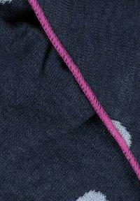 Zwillingsherz - Scarf - jeansblau/weiß - 1