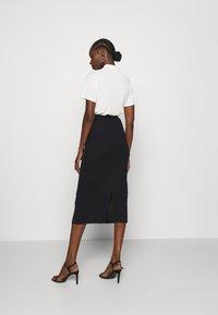 Stylein - RENE - Pouzdrová sukně - navy - 2