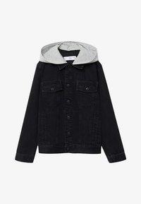 Mango - MISTY - Denim jacket - black denim - 0