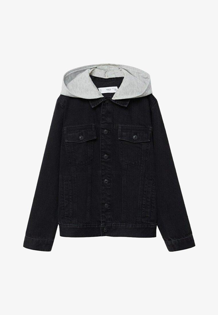 Mango - MISTY - Denim jacket - black denim