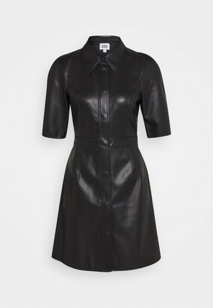 CARMELLA DRESS - Skjortekjole - black