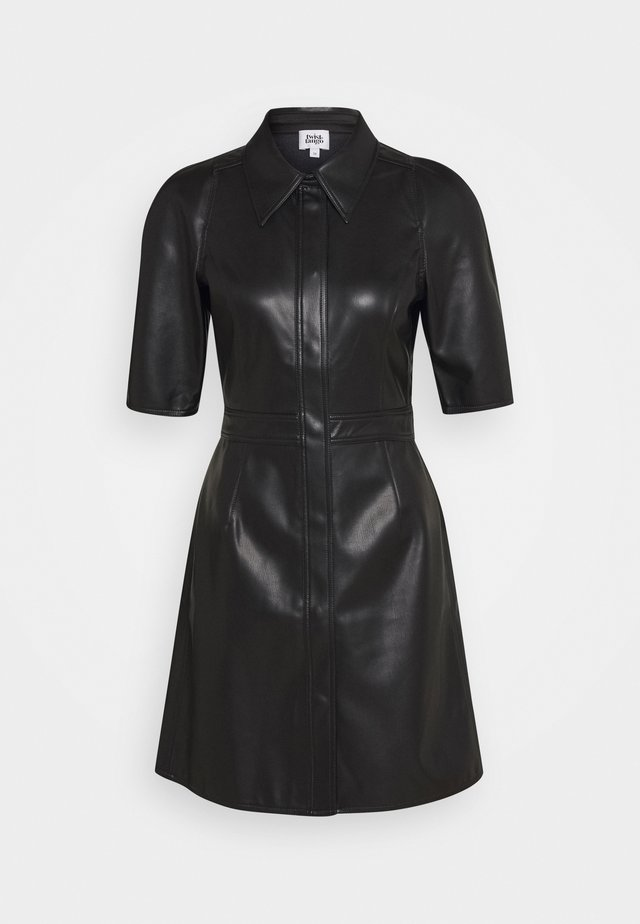 CARMELLA DRESS - Skjortekjole - black