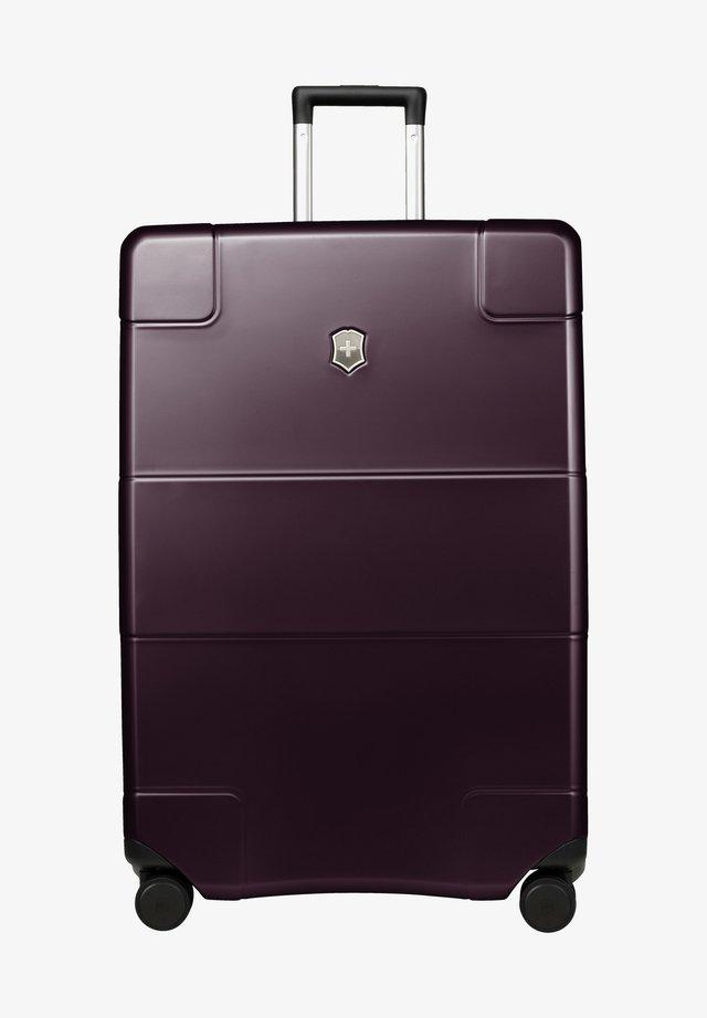 Wheeled suitcase - purple