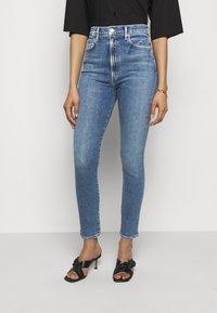 Agolde - Jeans Skinny Fit - amped light indigo - 0