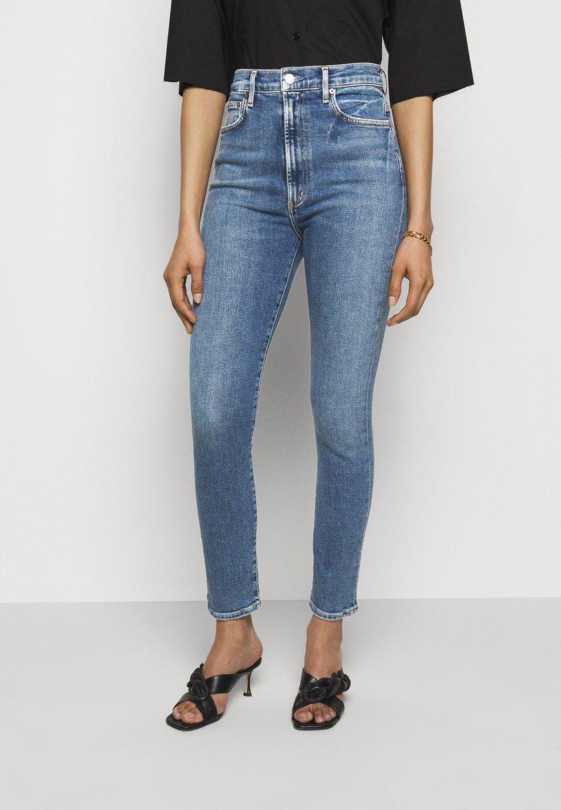 Agolde - Jeans Skinny Fit - amped light indigo