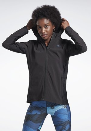 RUN TRACK TOP - Kurtka sportowa - black