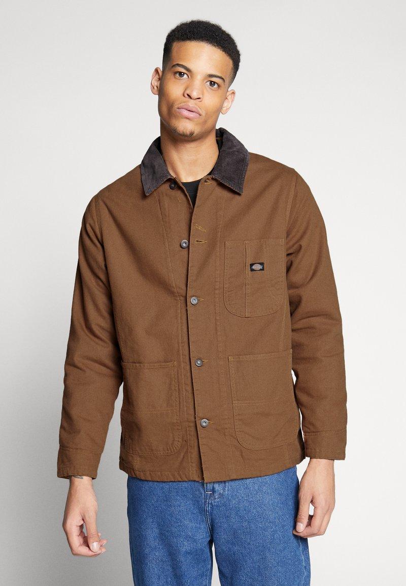 Dickies - BALTIMORE JACKET - Summer jacket - brown duck