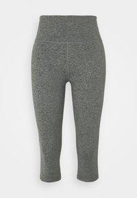 Cotton On Body - SO PEACHY CAPRI - Leggings - black marle - 5