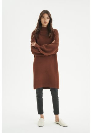 Jumper dress - spicy brown