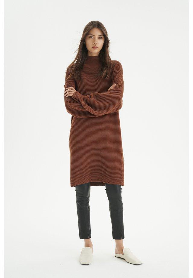 Jumper dress - spicy brown