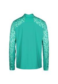 Umbro - WERDER BREMEN HALF ZIP - Sports shirt - spectra green / ice green - 1
