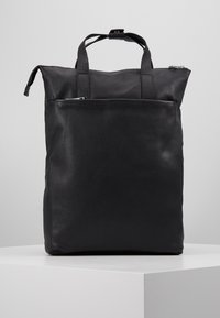 Zign - UNISEX LEATHER - Rucksack - black - 0