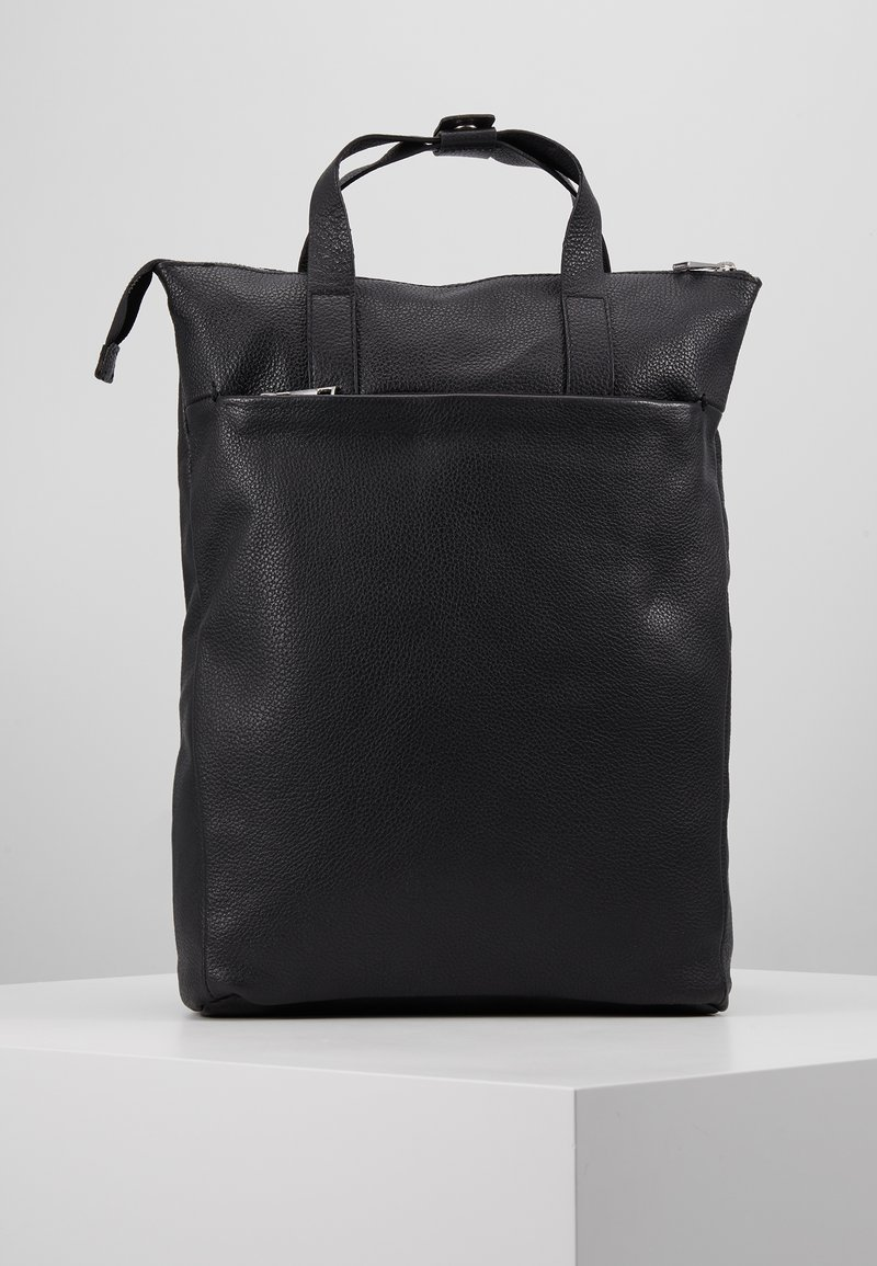 Zign - UNISEX LEATHER - Batoh - black