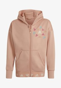 adidas Performance - Zip-up sweatshirt - pink - 0