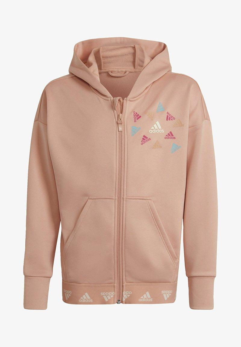 adidas Performance - Zip-up sweatshirt - pink