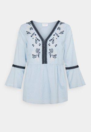 VIANAYAS 3/4 - Blouse - cashmere blue/navy blazer