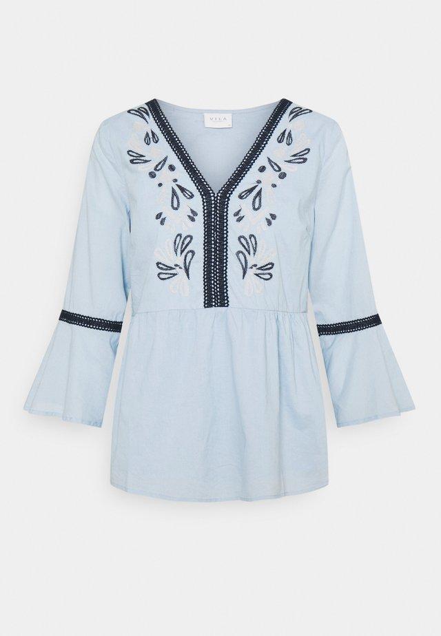 VIANAYAS 3/4 - Camicetta - cashmere blue/navy blazer