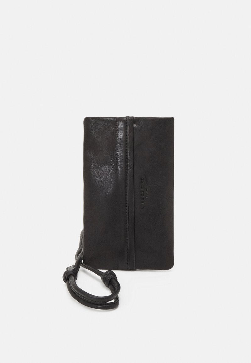 Liebeskind Berlin - MOBILE POUCH - Across body bag - black