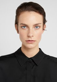 DRYKORN - THERRY - Button-down blouse - black - 5