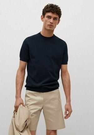 TECHNOC - Basic T-shirt - marineblau