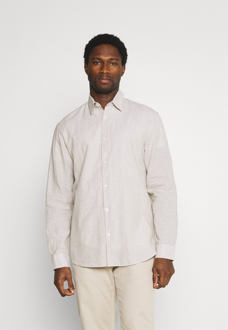 Selected Homme - SLHREGNEW SHIRT - Skjorta - dried herb
