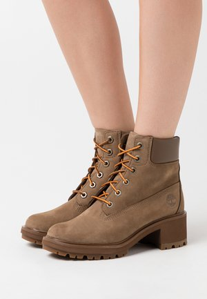 KINSLEY 6 IN BOOT - Lace-up ankle boots - dark beige