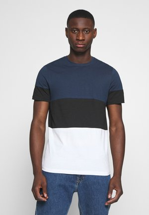 NEWBAILEY LIFE  - T-shirt con stampa - dress blues