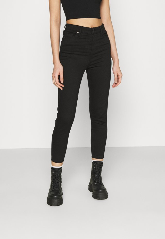 SHORT EMILY  - Jeansy Skinny Fit - black