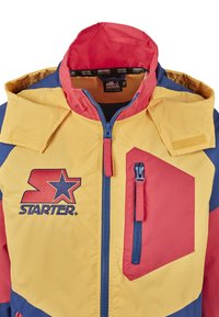 Starter - MULTICOLORED LOGO - Kevyt takki - red/blue/yellow - 7