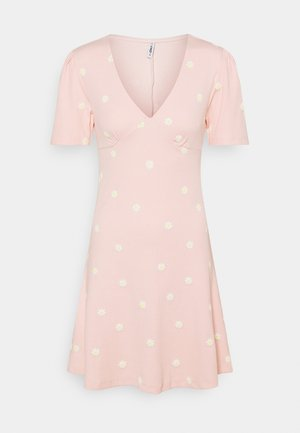 ONLFENJA LIFE DRESS - Vestido ligero - strawberry cream