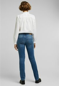 Esprit - Straight leg jeans - blue medium washed - 2
