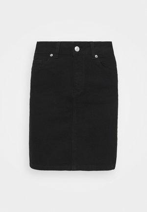 SLFKENNA SKIRT - Minikjol - black denim