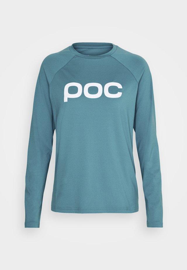 REFORM ENDURO  - Langærmede T-shirts - basalt blue