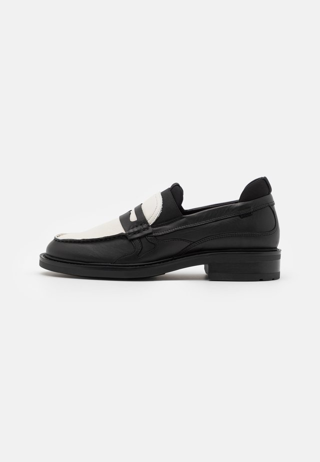 IVY JAZZ - Slippers - black/offwhite