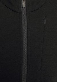 Icebreaker - AWAY ZIP - Sweater met rits - black - 2