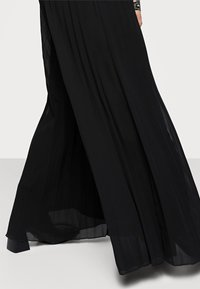 New Look Curves - WIDE LEG - Trousers - black - 4