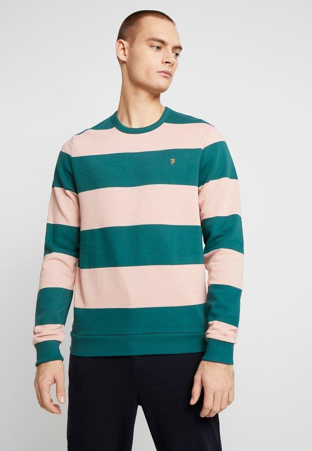 BARNES - Sweatshirt - bright emerald