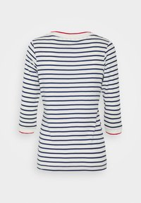 Esprit - STRIPED - Long sleeved top - off white - 1