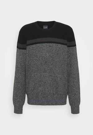Jersey de punto - grey color block