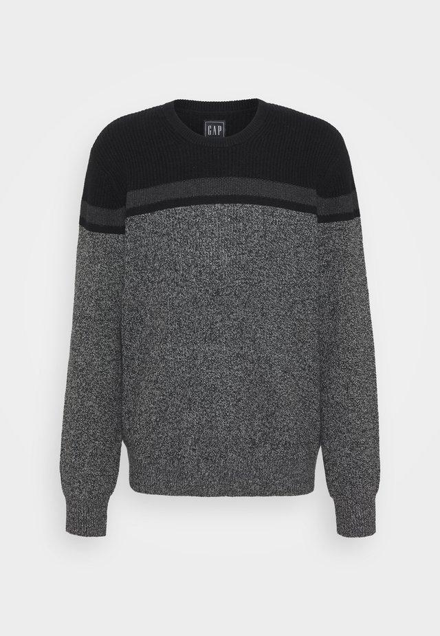 Trui - grey color block