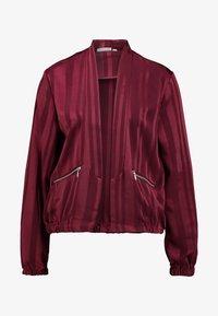 Fransa - FRGASHADOW JACKET - Summer jacket - syrah - 4
