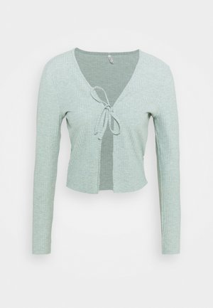 ONLNELLA CARDIGAN  - Gilet - chinois green