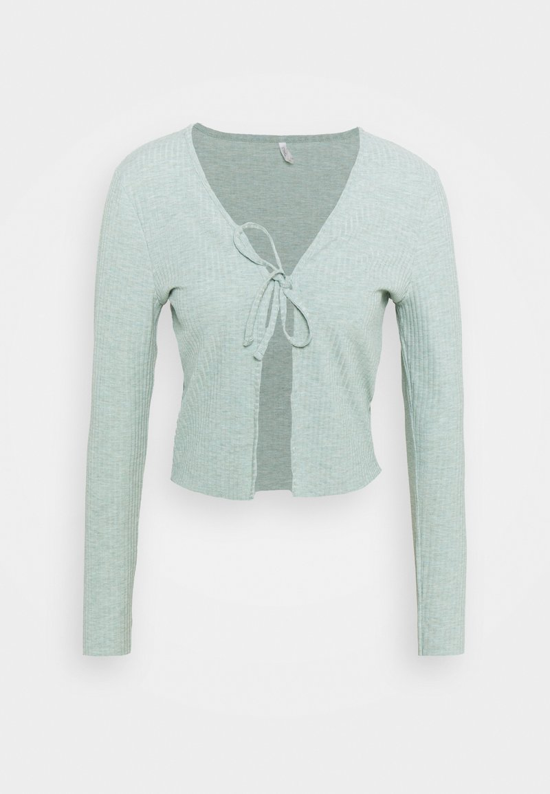 ONLY Tall - ONLNELLA CARDIGAN  - Cardigan - chinois green