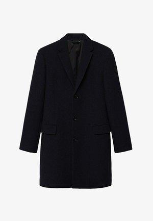 LONG RECYCLÉE - Short coat - black